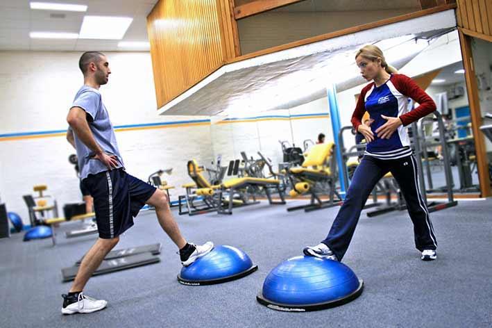 Personal trainer Latisana